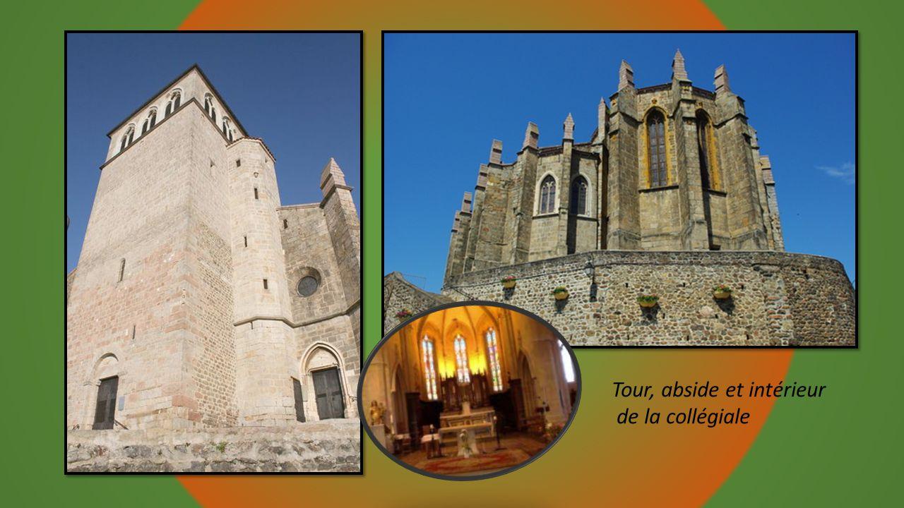 Eglise collégiale du 15éme siècle, style gothique
