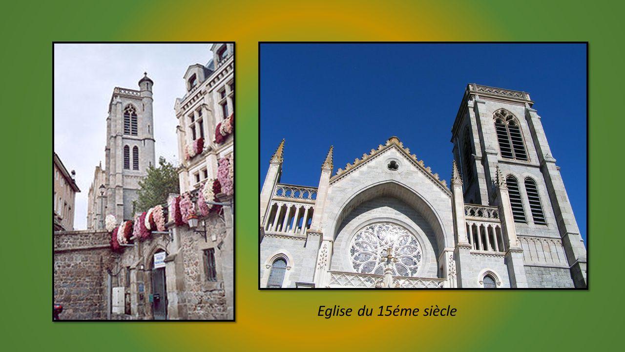 Sur une colline dominant la Loire et la plaine du Forez SAINT GALMIER (Loire)