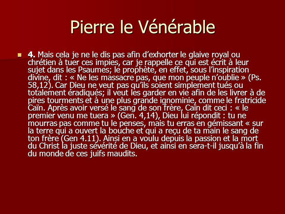 Pierre le Vénérable 5.