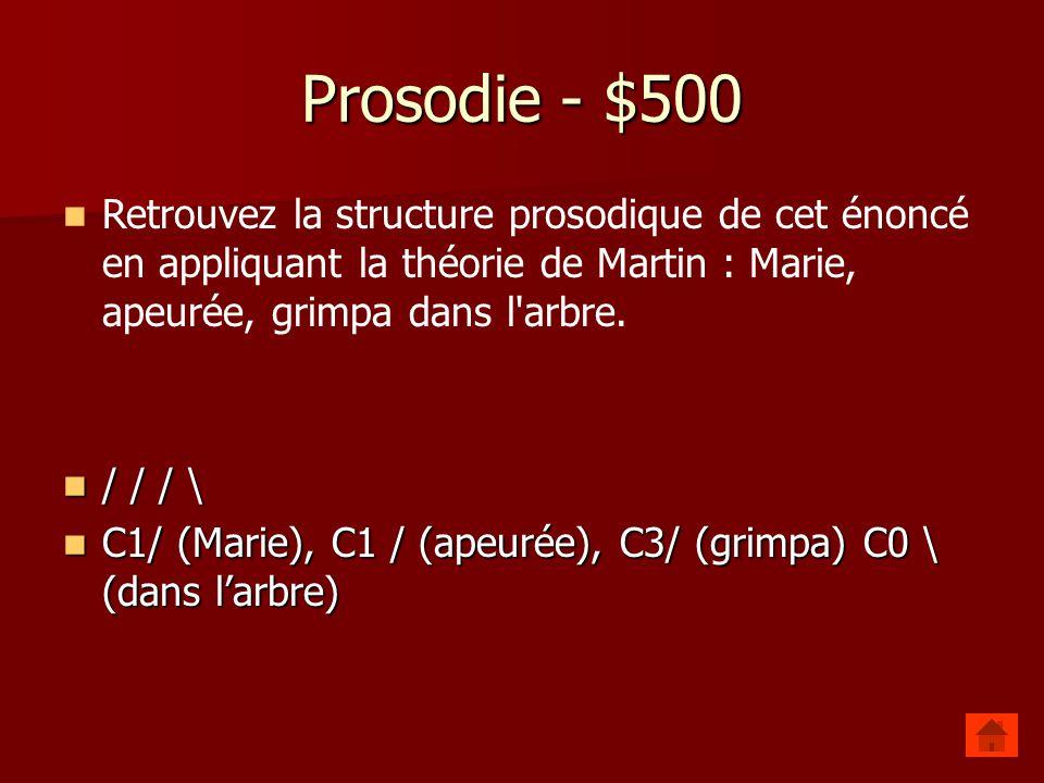 Prosodie - $400 Quels sont les 3 types daccents des langues alphabétiques? Quels sont les 3 types daccents des langues alphabétiques? langues à accent