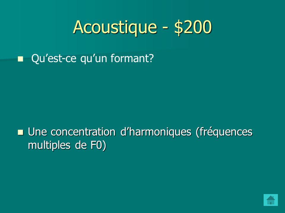 - $200 Phonologie - $200 Pourquoi en français peut-on prononcer le son R de différentes manières (roulé, grasseyé, etc.) tandis qu on ne peut pas dans d autres langues, comme l espagnol ou l arabe .