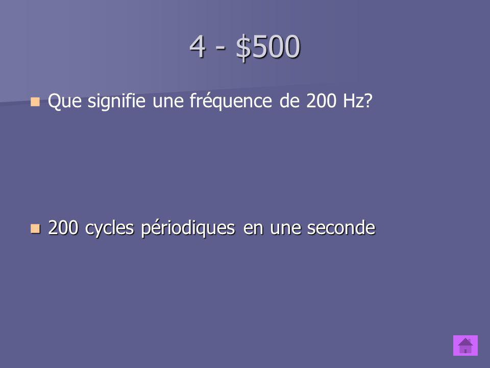 4 - $400 Quest-ce quun formant.Quest-ce quun formant.