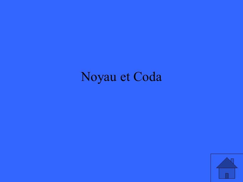 Noyau et Coda