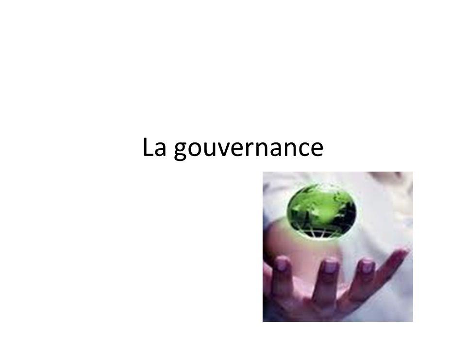Questions En quoi gouvernance se distingue de gouvernement.