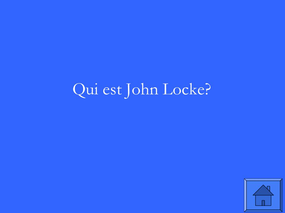 Qui est John Locke?