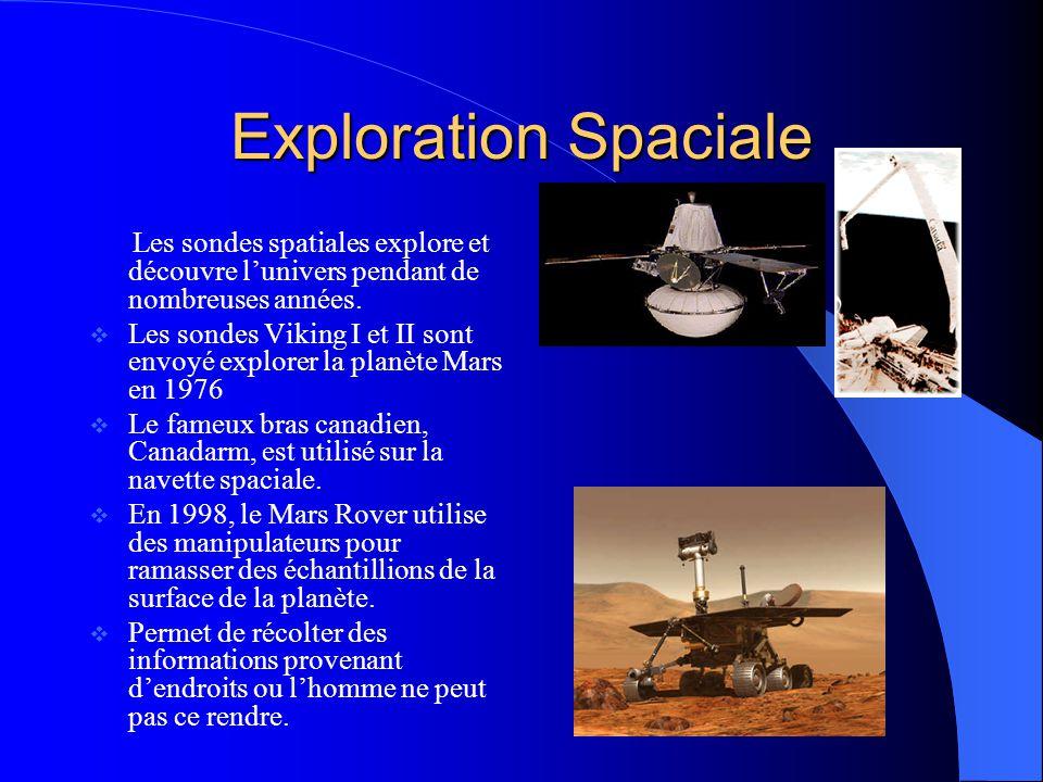 Exploration Spaciale Les sondes spatiales explore et découvre lunivers pendant de nombreuses années. Les sondes Viking I et II sont envoyé explorer la
