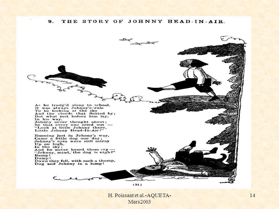 H. Poissant et al.-AQUETA- Mars2003 14 Histoire de johnny