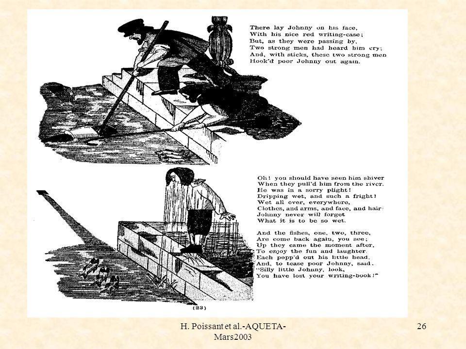 H. Poissant et al.-AQUETA- Mars2003 26 Histoire de johnny