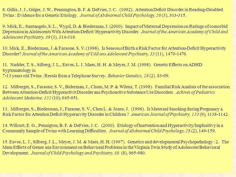 H. Poissant et al.-AQUETA- Mars2003 75 8. Gillis, J.