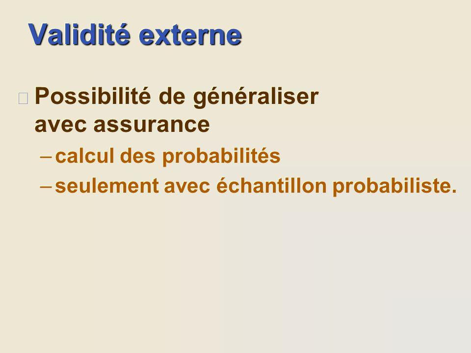 Échantillonnage probabiliste avec des sous-ensembles l stratifié l par grappes l etc. l stratifié l par grappes l etc. l aléatoire dans chaque sous-en