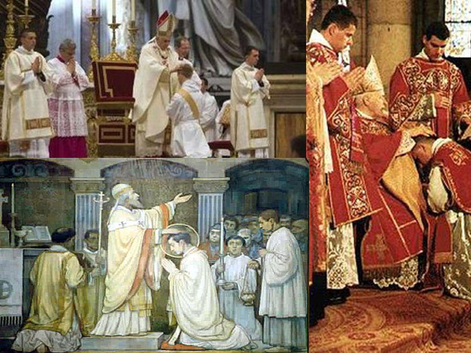 Le Clergé: Le groupe de personnes qui sont ordonnées dans léglise: ils peuvent faire les cérémonies religieuses et aussi avoir des fonctions religieus