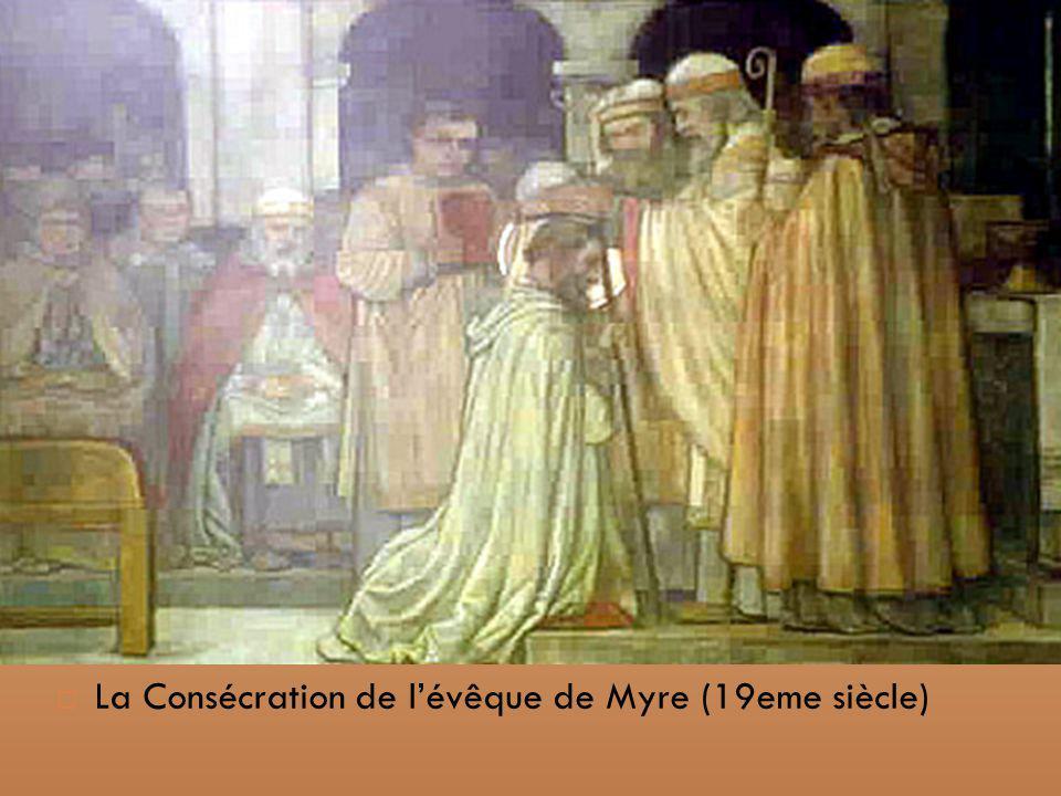 La Consécration de lévêque de Myre (19eme siècle)
