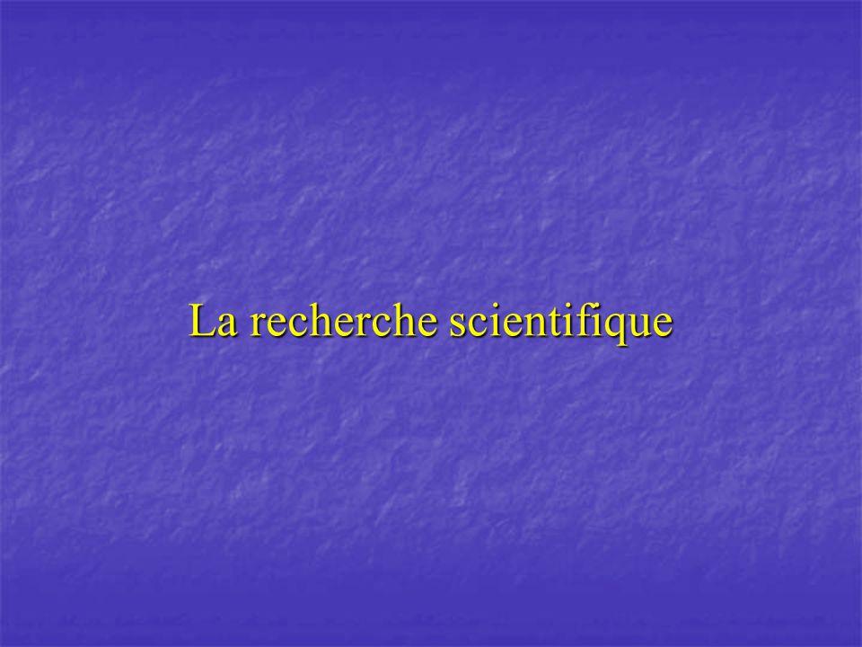 1.Le fonctionnement de la science 1.