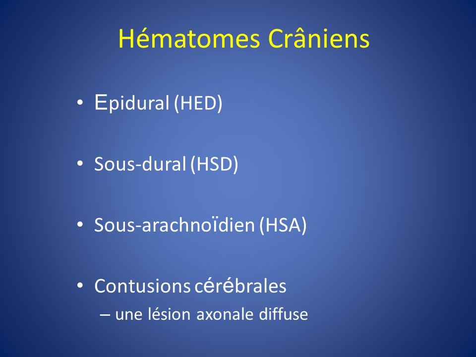Conséquences neurologiques -Locaux -Sensitif, moteur, langue, etc -Diffus -Perte de memoire et souvenirs -Céphalées -Crises épileptiques -Coma