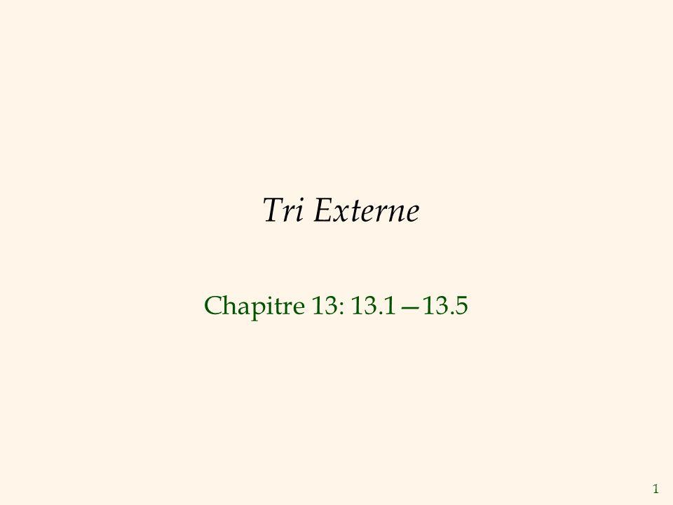 2 Pourquoi Trier.Problème classique en informatique (Voir Knuth, v.3).