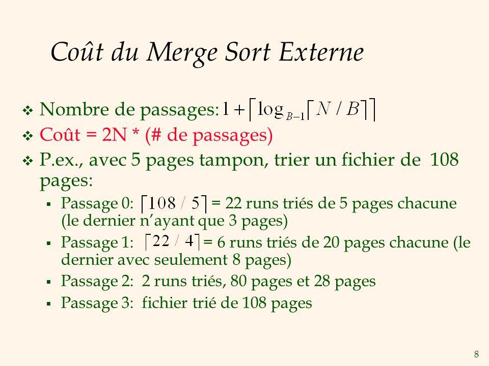 9 Nombre de Passages du Triage Externe