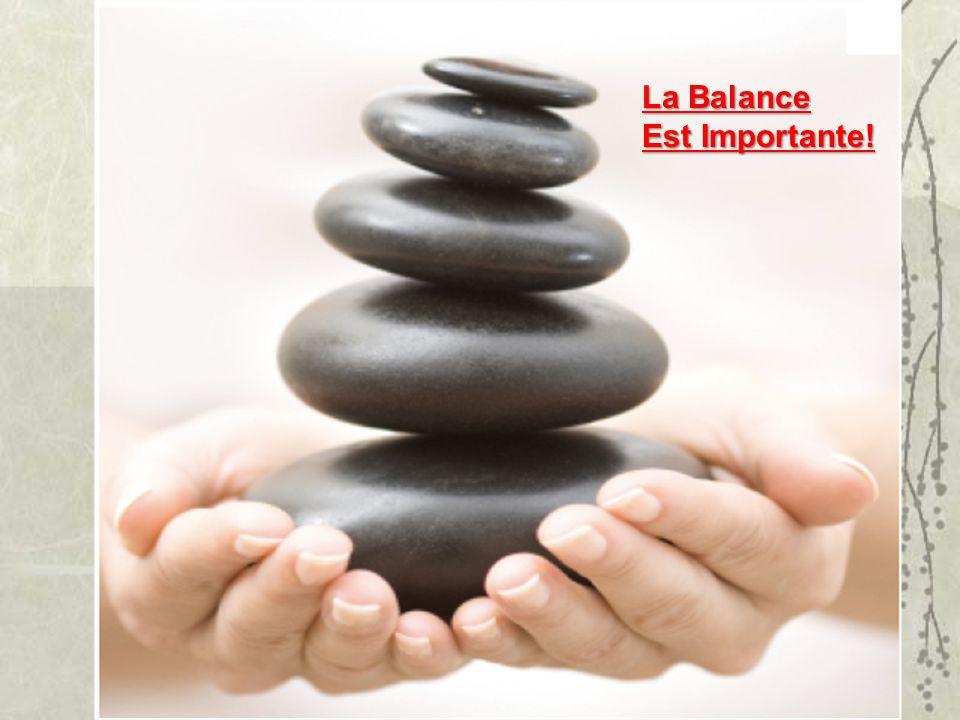 La Balance Est Importante!