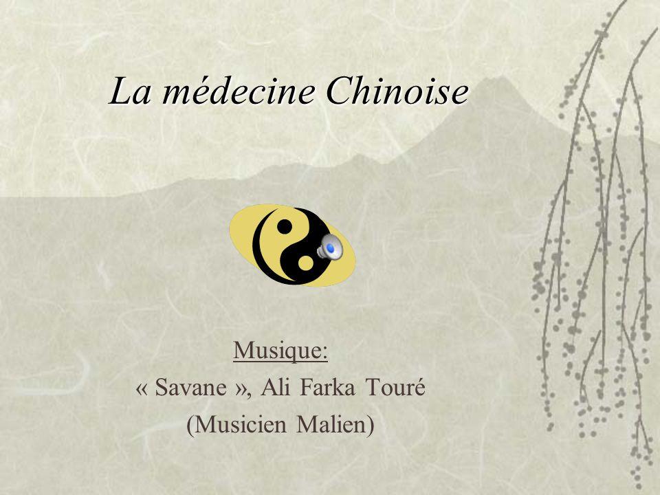 La médecine Chinoise Musique: « Savane », Ali Farka Touré (Musicien Malien)