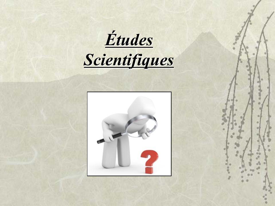 Études Scientifiques