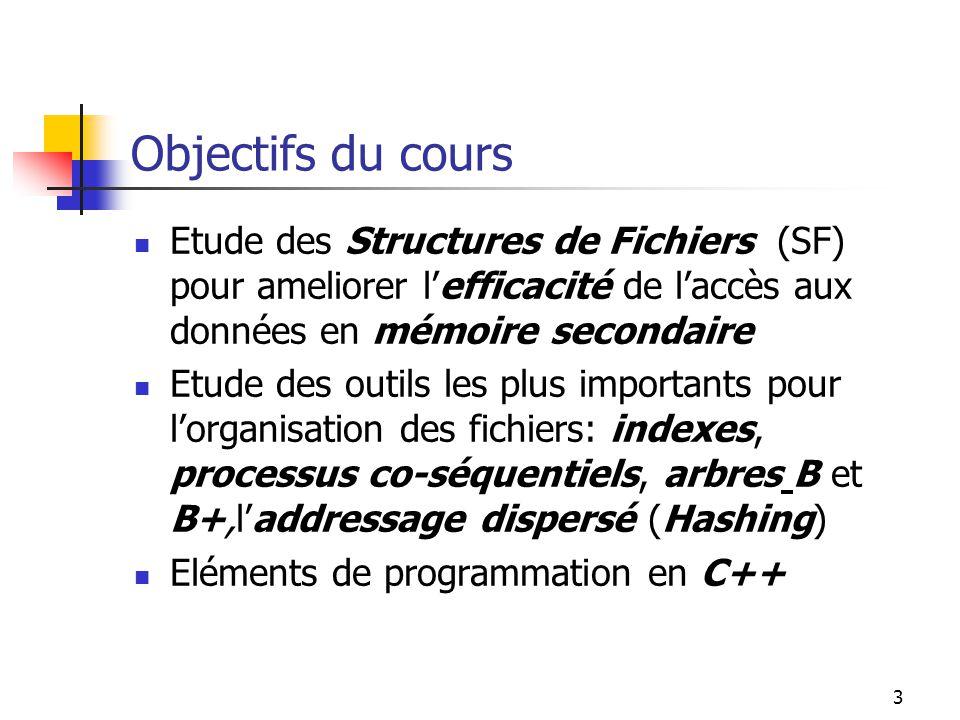 14 Historique: arbres de recherche Les indexes ont vite grandi de manière démesurée.