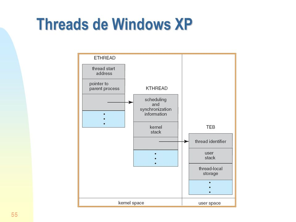 55 Threads de Windows XP