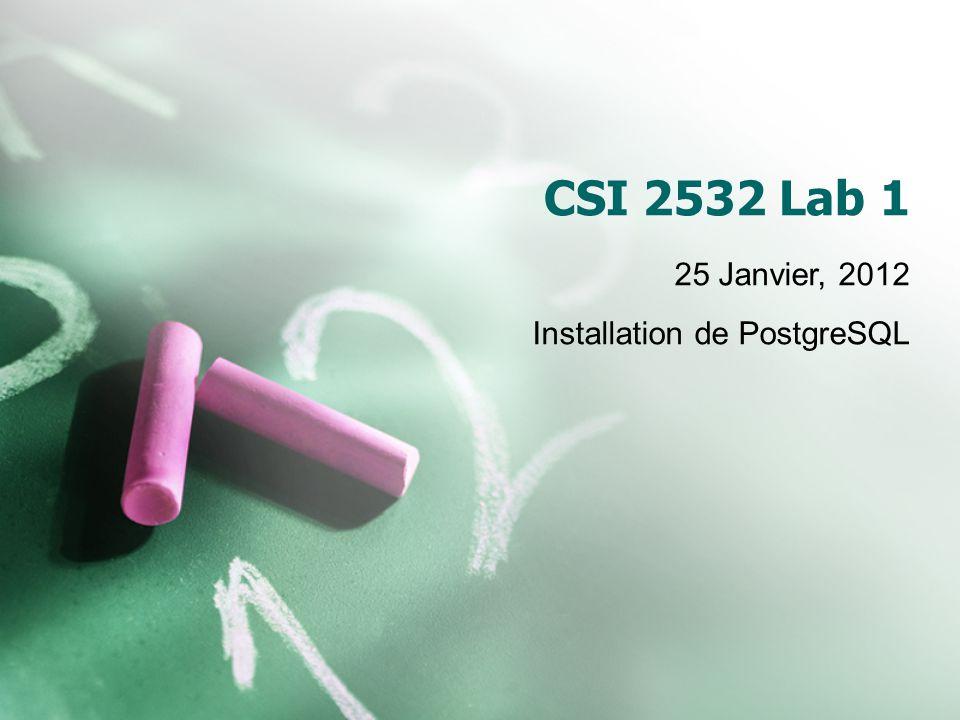 Sommaire Introduction à PostgreSQL Usage du pgAdmin III dans les labs à SITE Usage de pgAdmin III dans votre ordinateur personnel