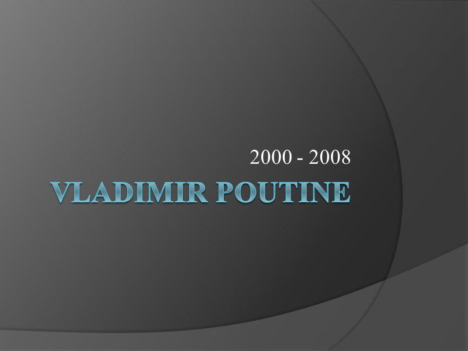 Le legs de Eltsine La crise économique de 1998: endettement, pensions etc.