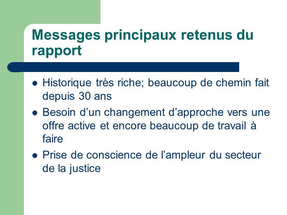 Meilleures façons dinformer les francophones de leurs droits à des SEF CLEO Code de déontologie Cours de civisme Documents dans un langage accessible Démystifier le système de justice Éducation des fonctionnaires (Montfort)