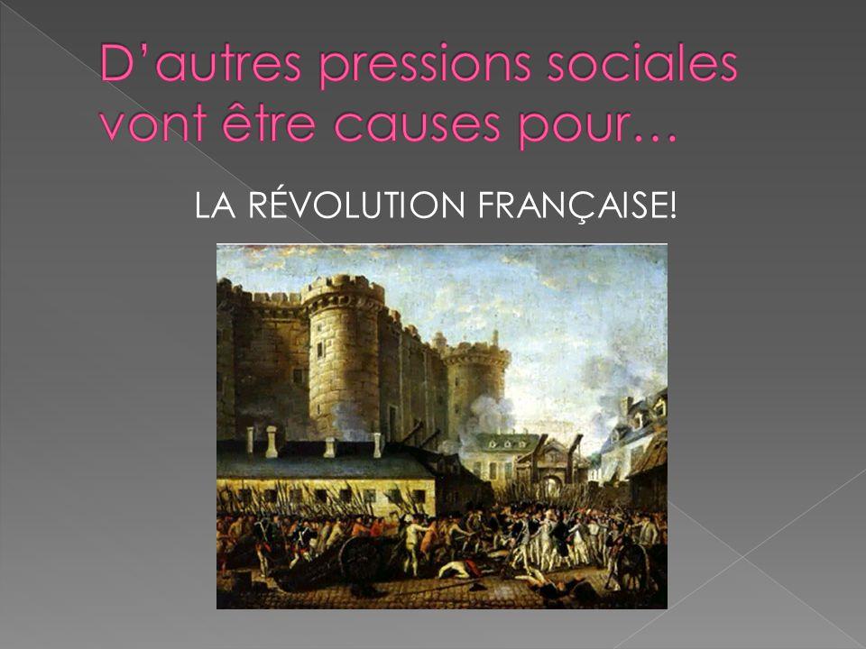 LA RÉVOLUTION FRANÇAISE!