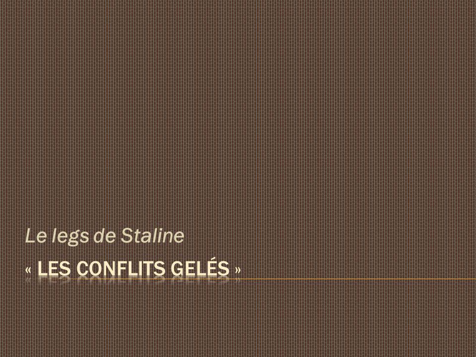 Le legs de Staline
