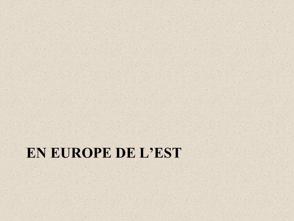 EN EUROPE DE LEST