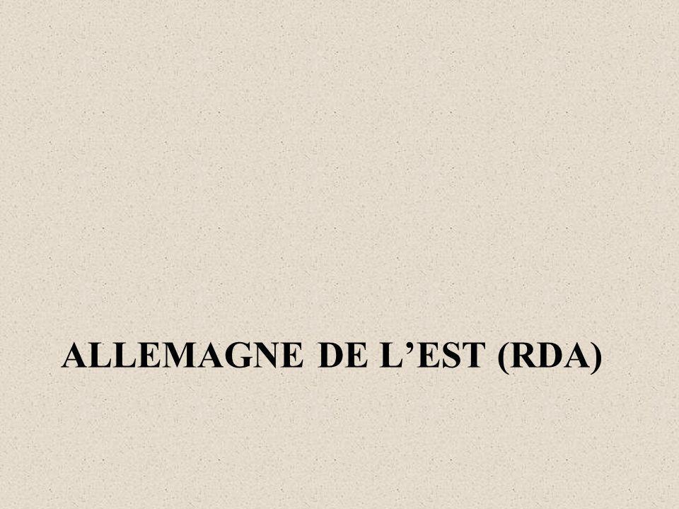 ALLEMAGNE DE LEST (RDA)