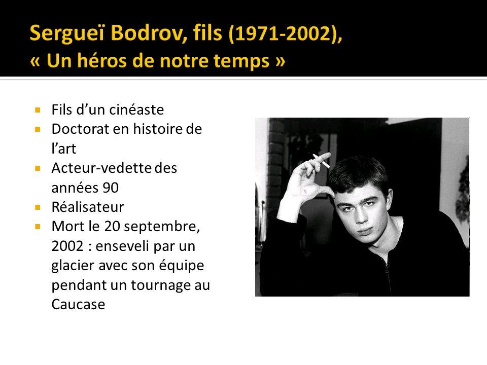 Fils dun cinéaste Doctorat en histoire de lart Acteur-vedette des années 90 Réalisateur Mort le 20 septembre, 2002 : enseveli par un glacier avec son équipe pendant un tournage au Caucase