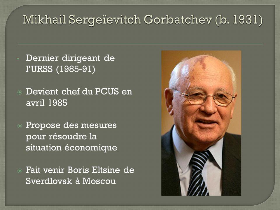 1983 Gorbatchev visite le Canada Il rencontre Alexandre Ïakovlev, ambassadeur de lURSS Conversation entre Gorbatchev et Ïkovlev chez Eugene Whelan, Ministre de lagriculture du Canada Conversation entre Gorbatchev et Ïkovlev chez Eugene Whelan, Ministre de lagriculture du Canada