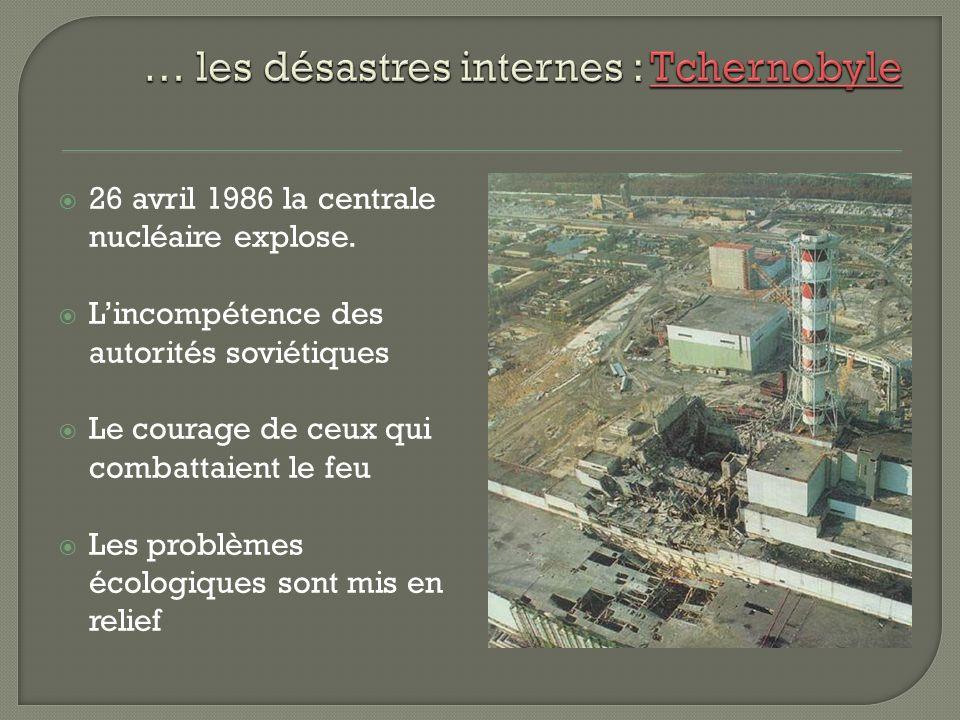 Février 1986 27e Congrès du PCUS Pour accélérer léconomie on repensera le système planifié, permettra aux entreprises de faire des profits, prendre leur propres décisions.