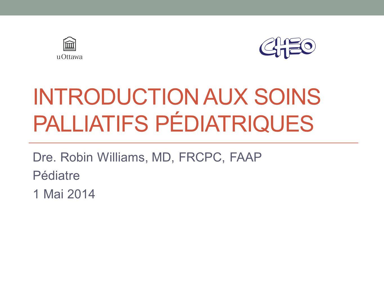 Objectifs Définir les diverses catégories de maladies limitant lespérance de vie chez les enfants.