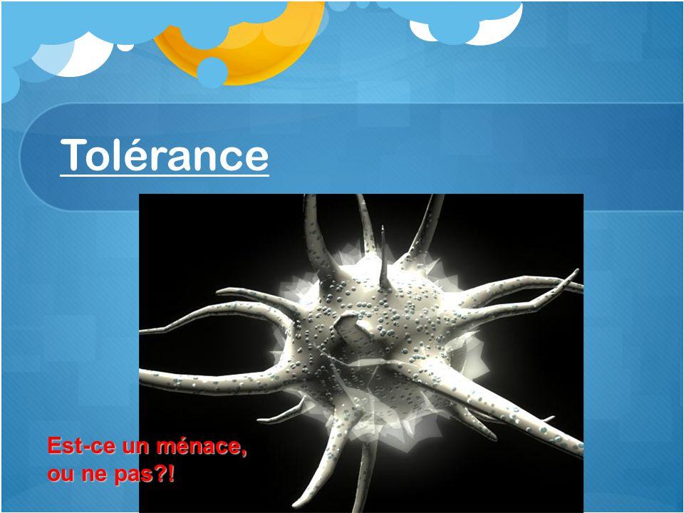 Tolérance Est-ce un ménace, ou ne pas?!