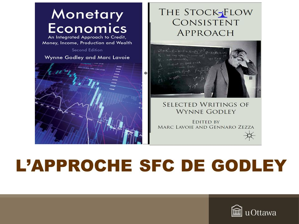 Minsky et les modèles SFC II An ultimate reality in a capitalist economy is the set of interrelated balance sheets among the various units.
