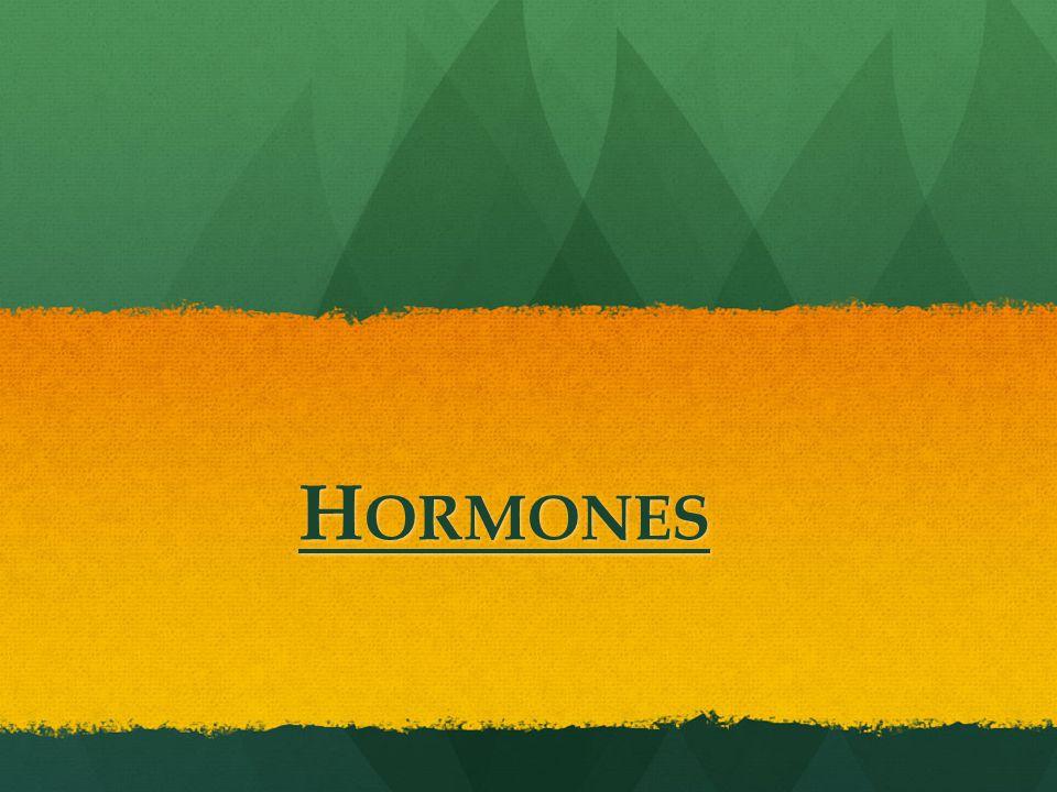 H ORMONES