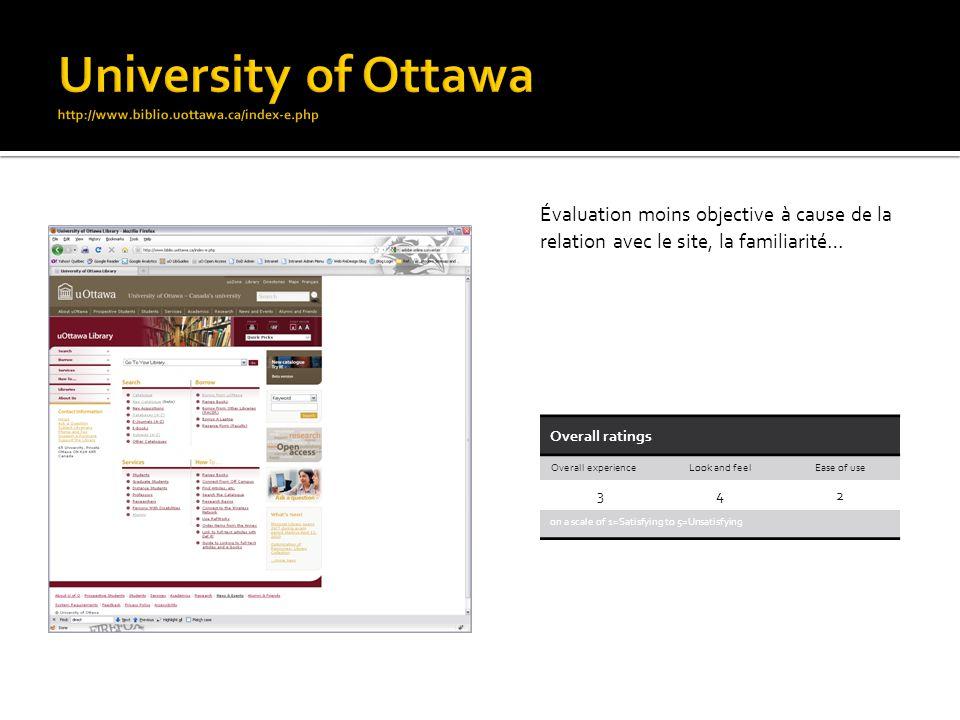 Plusieurs boîtes de recherche et related links pour orienter lutilisateur.