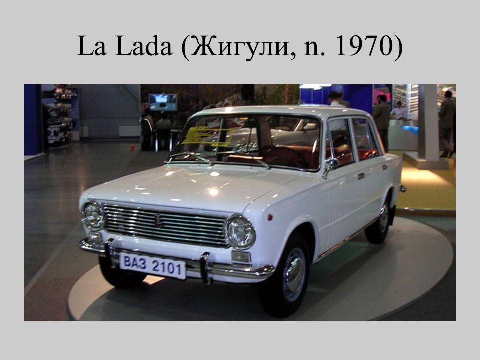 La Lada (Жигули, n. 1970)