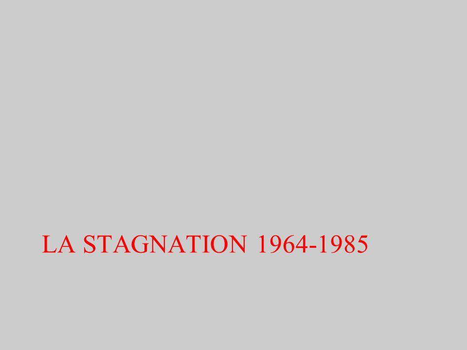 LA STAGNATION 1964-1985