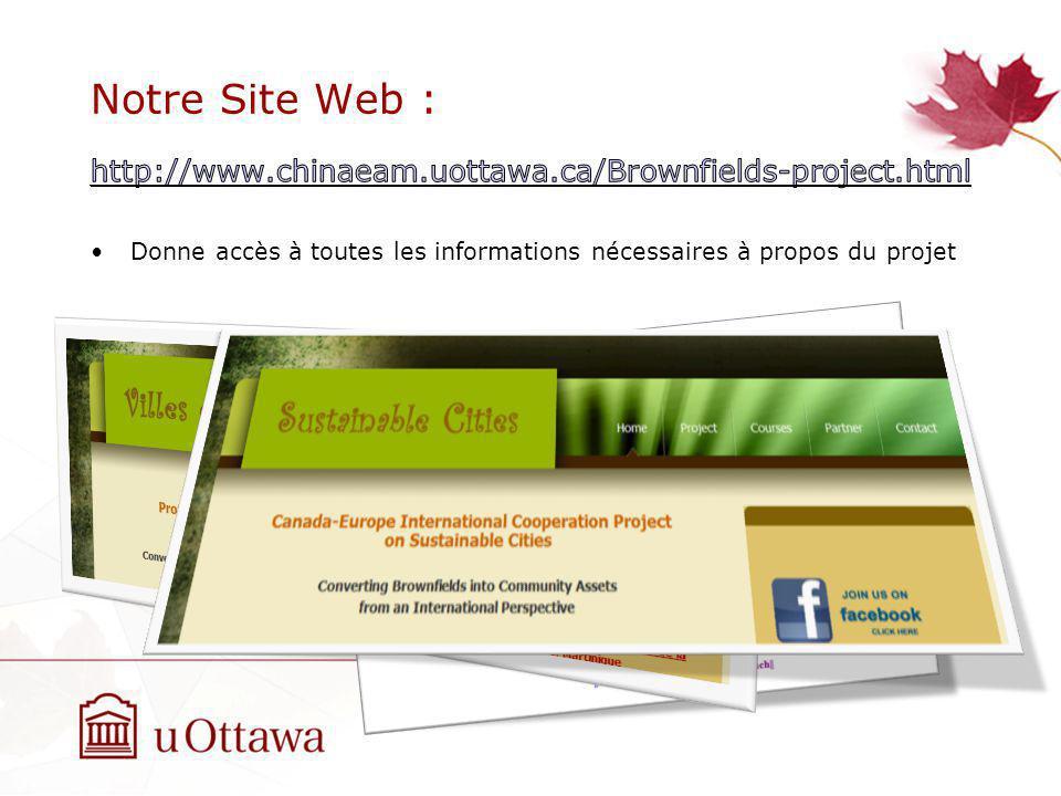 Notre Site Web :