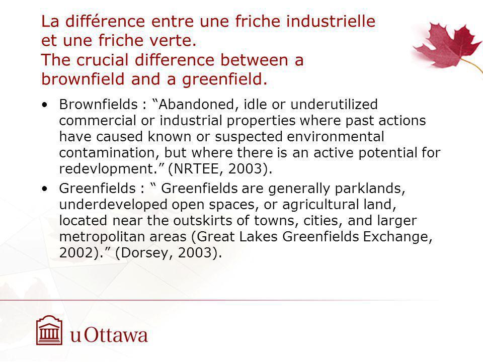 La différence entre une friche industrielle et une friche verte.