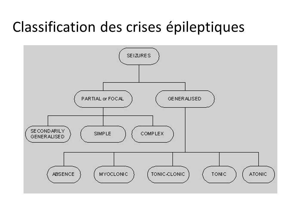 Classification des crises épileptiques