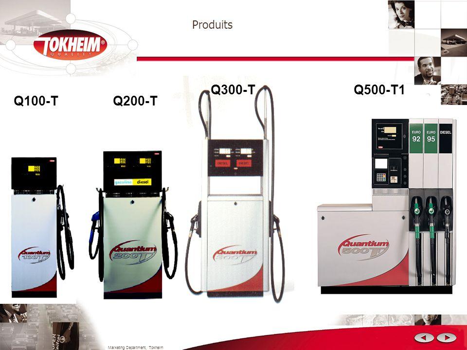 Marketing Department, Tokheim Produits IQ 6000 DIT 5000 IQ 7000 JUPITER