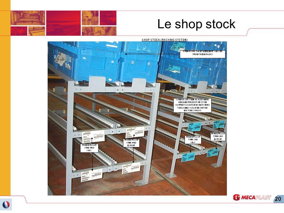 20 Le shop stock