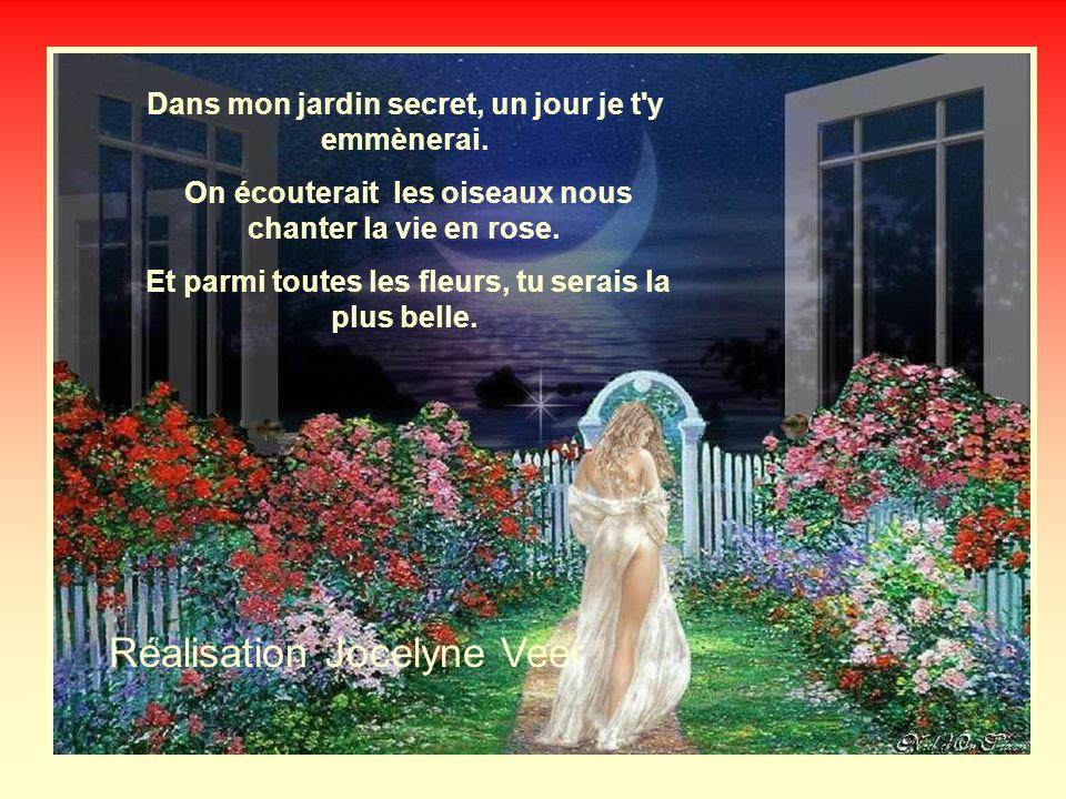 Dans mon jardin secret les fleurs Ont des senteurs exotiques et enivrantes. Chaque parfum parle d'amour, de joie et de peine.