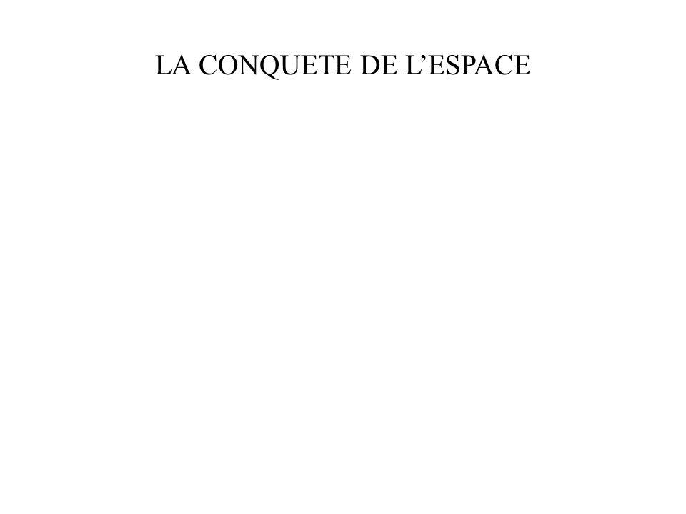 LA CONQUETE DE LESPACE