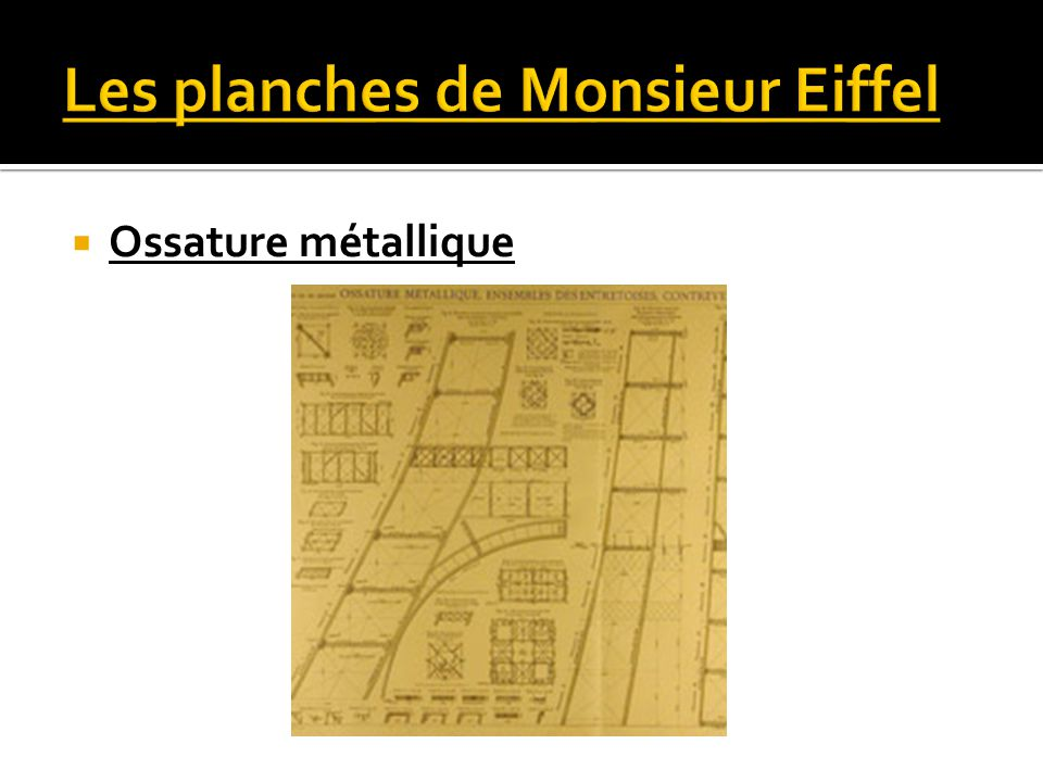 Ossature métallique